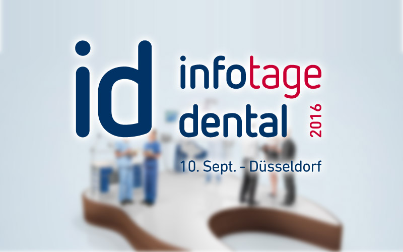 id infotage dental 2016 in Düsseldorf