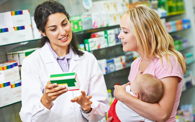 Werbung auf dem Medikationsplan