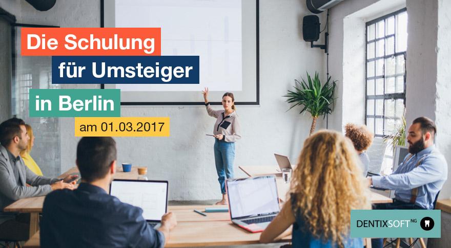 DENTIXSOFTNG Schulung Berlin