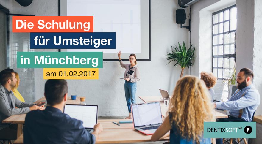 DENTIXSOFTNG Schulung Münchberg