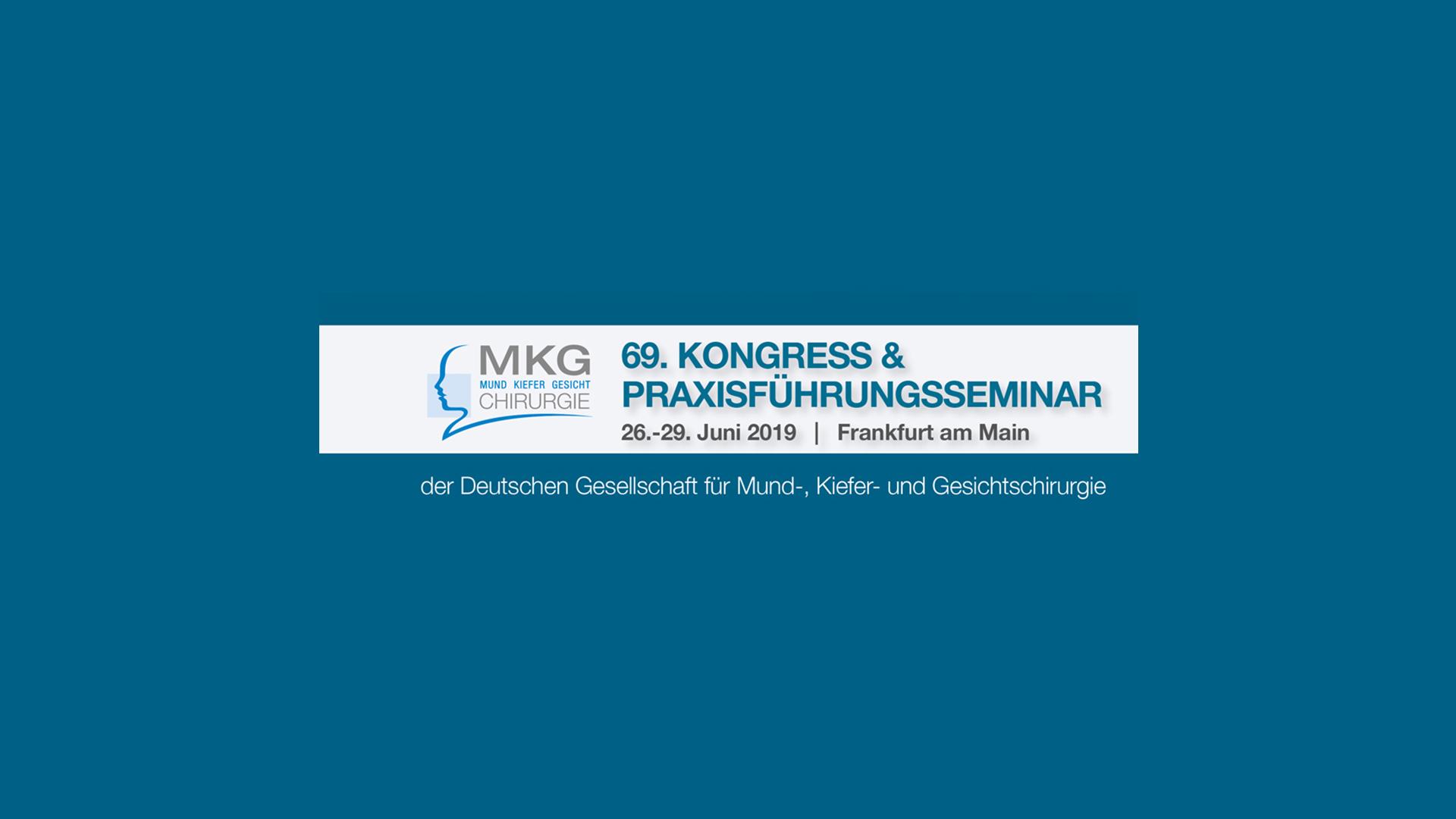 69. Kongress der Deutschen Gesellschaft für Mund-, Kiefer und Gesichtschirurgie, Frankfurt