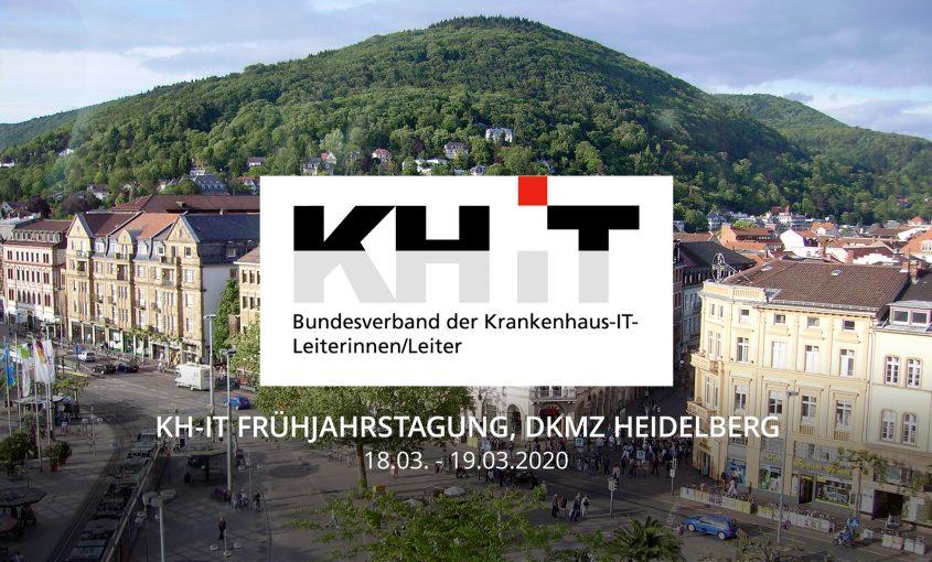März20 - KH-IT Frühjahrstagung, DKMZ Heidelberg