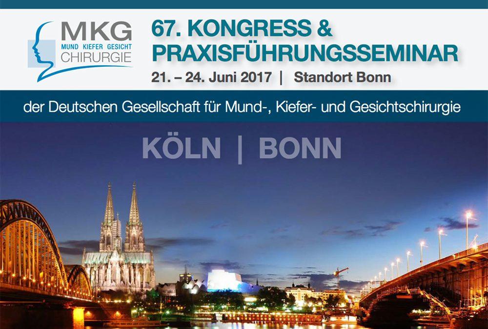 67. Kongress der Deutschen Gesellschaft für Mund-, Kiefer und Gesichtschirurgie