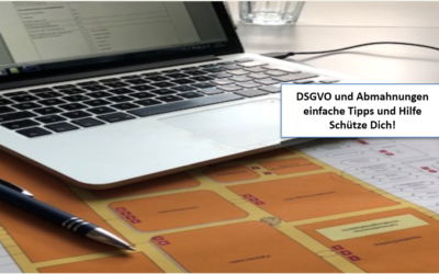 Abmahnung im Zusammenhang mit der Datenschutzgrundverordnung (DSGVO)