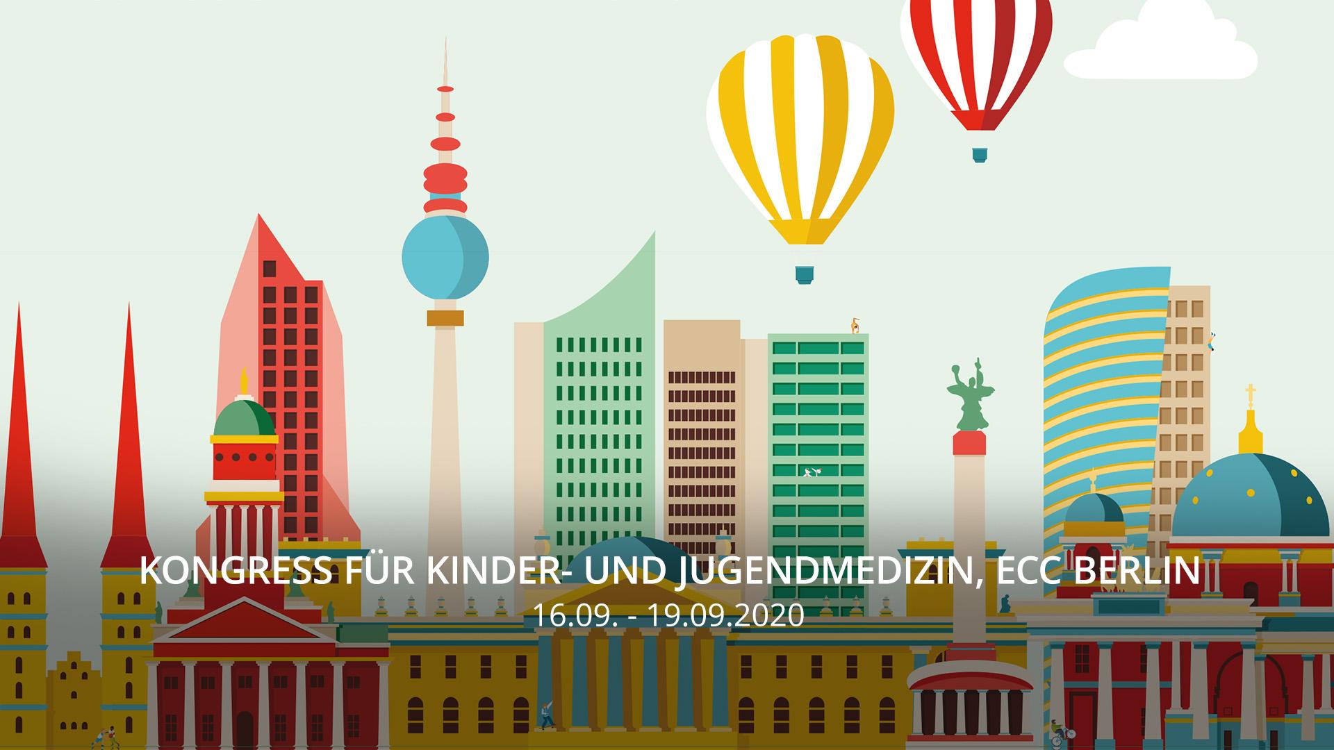 September20 - Kongress für Kinder- und Jugendmedizin, Estrel Congress Center Berlin